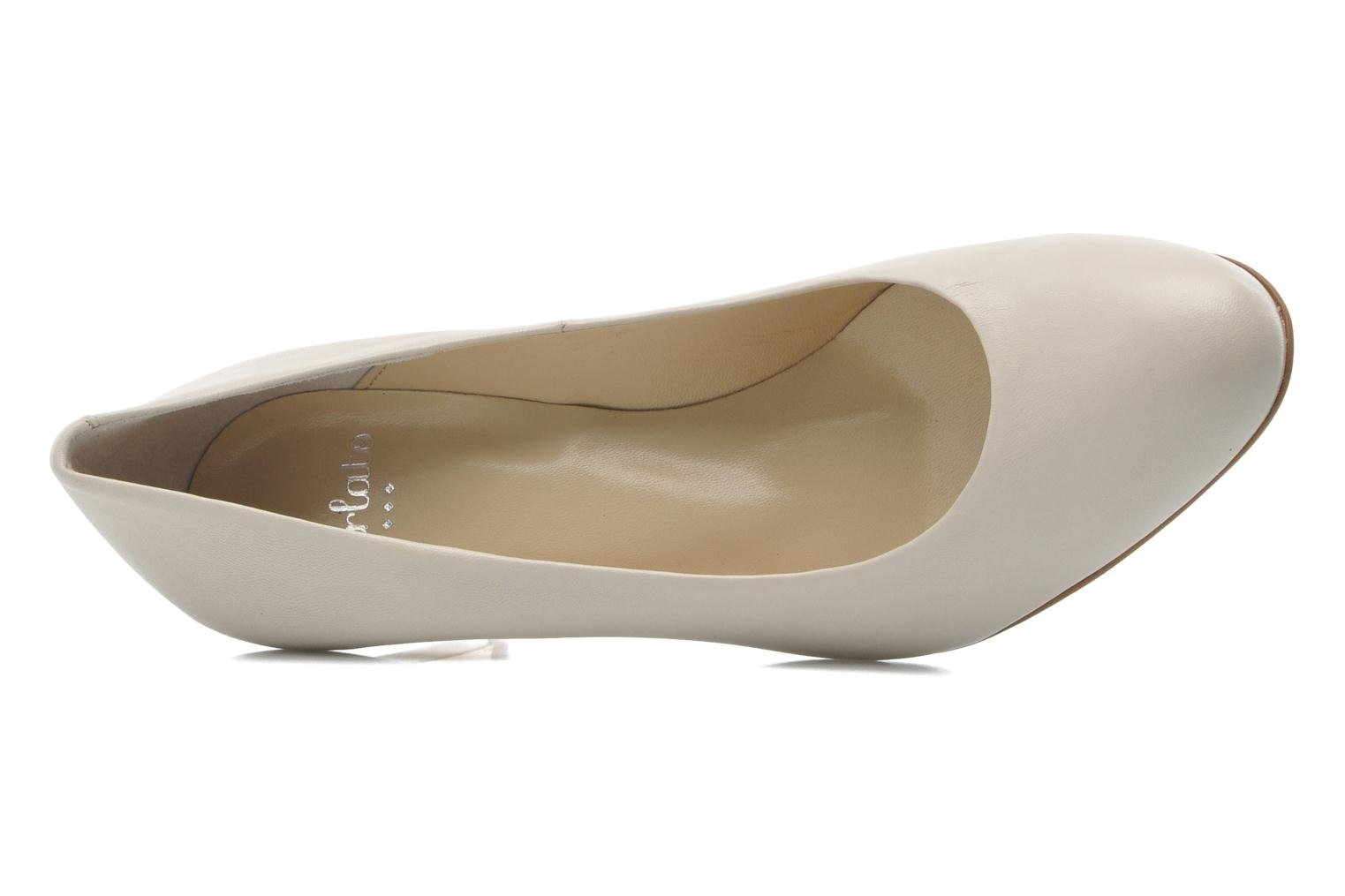 High heels Perlato Cid Beige view from the left