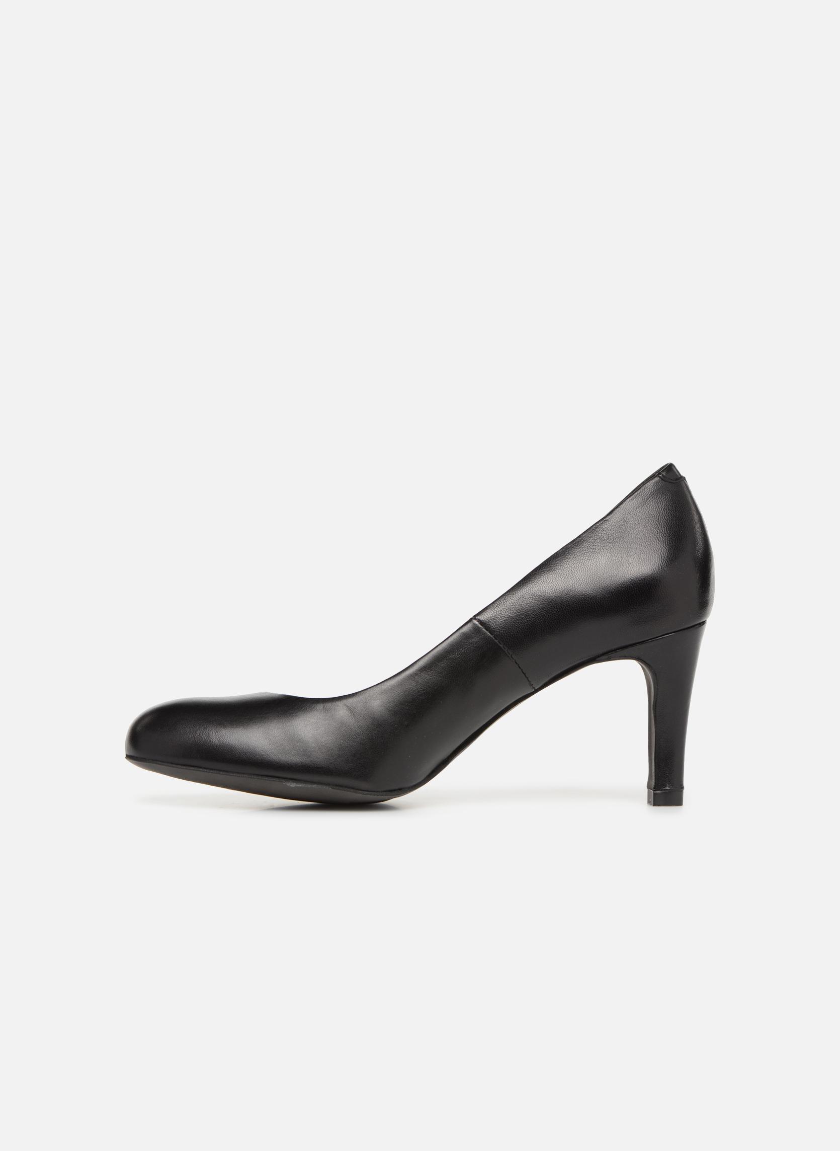 High heels Perlato Cid Black front view