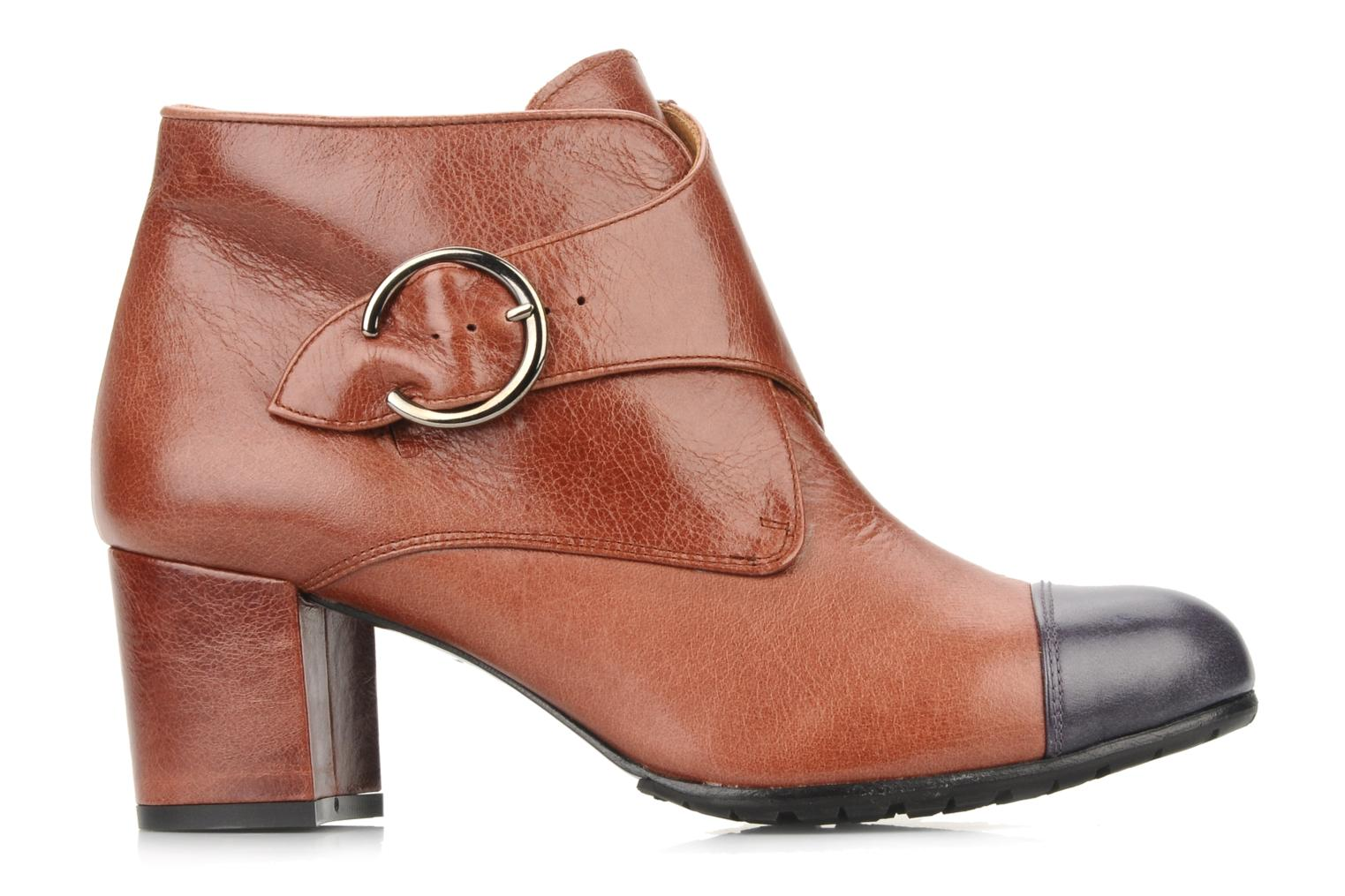 Ankle boots Maloles Anette Brown back view