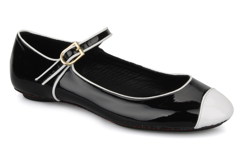 Boralie Vernis noir et blanc