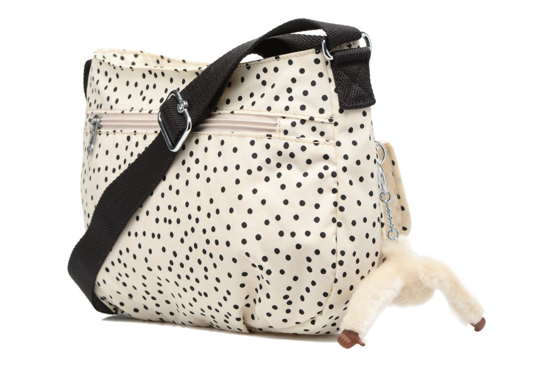 Handtaschen kipling Syro weiß ansicht von rechts