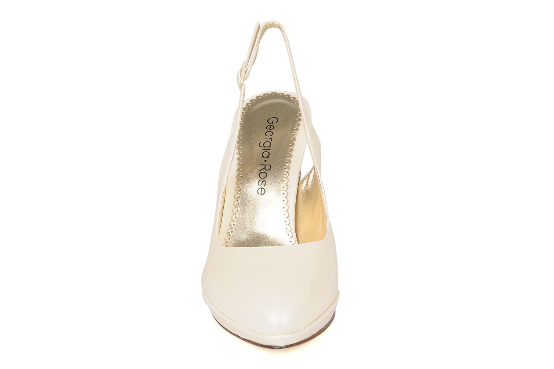 Escarpins Georgia Rose Ervili Blanc vue portées chaussures