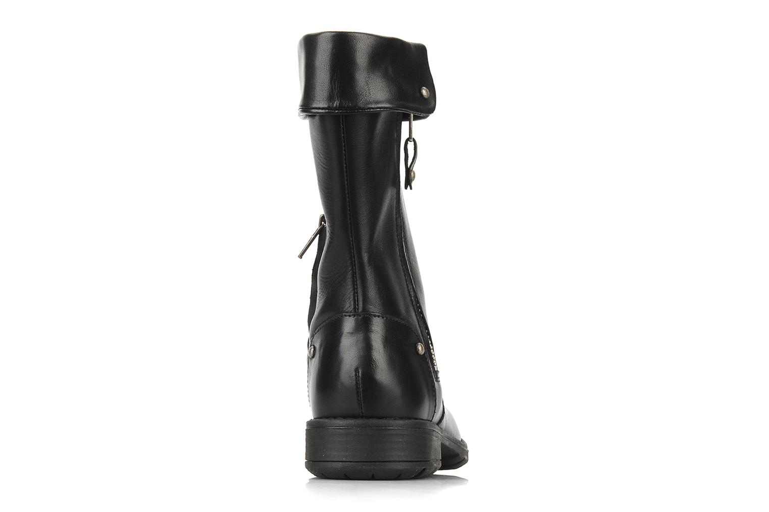 Boots & wellies Pom d Api Lina zip reverse Black view from the right