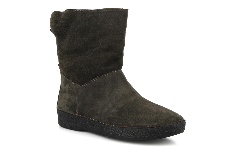 Boots en enkellaarsjes Vagabond Laura plain Groen detail