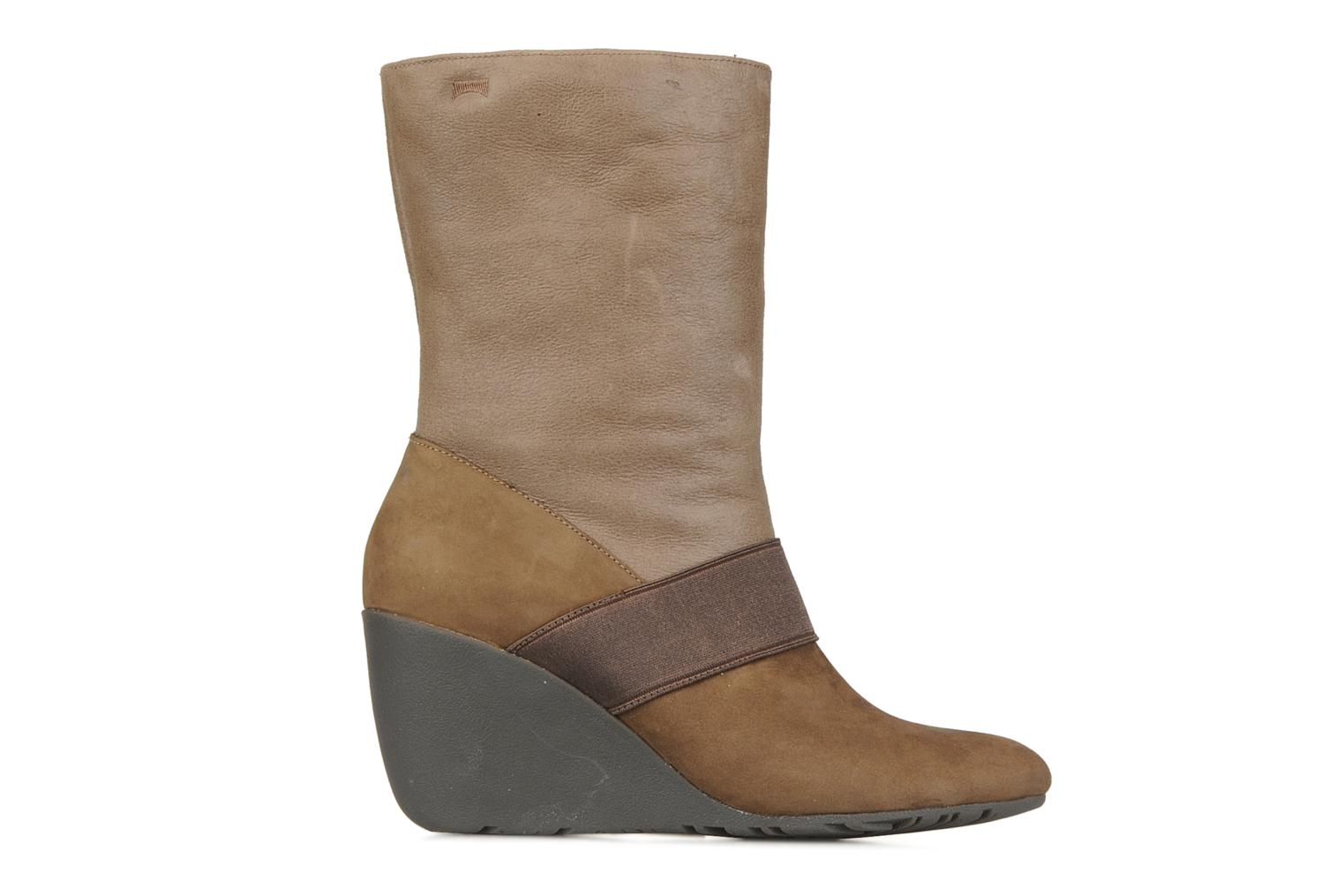 Ankle boots Camper Nancy 46331 Brown back view