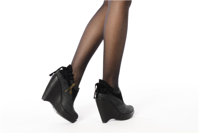 Stiefeletten & Boots Feud Brit schwarz ansicht von unten / tasche getragen