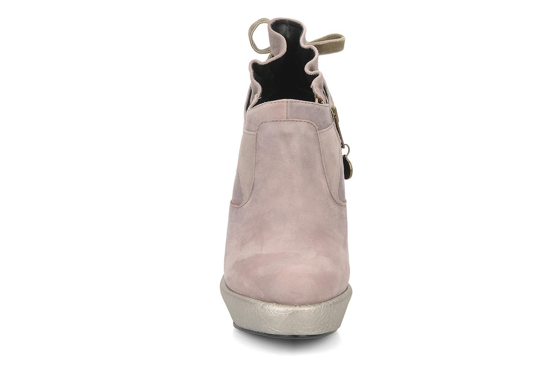 Bottines et boots Feud Brit Rose vue portées chaussures