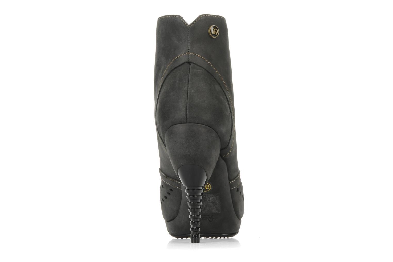 Stiefeletten & Boots Feud Beckon schwarz ansicht von rechts