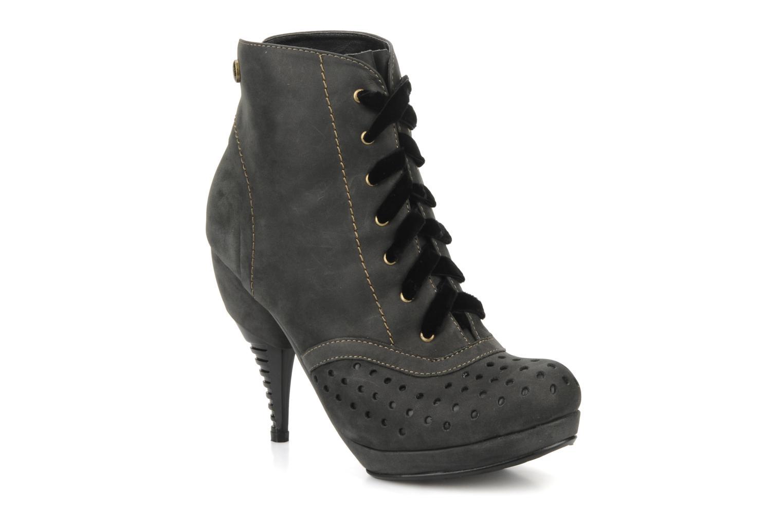 Boots en enkellaarsjes Feud Beckon Zwart detail