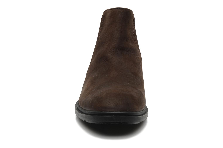 Boots en enkellaarsjes Sebago Drake Bruin model