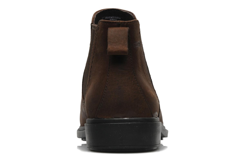 Boots en enkellaarsjes Sebago Drake Bruin rechts