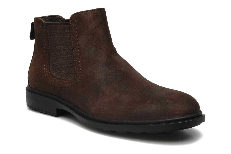 Boots en enkellaarsjes Sebago Drake Bruin detail