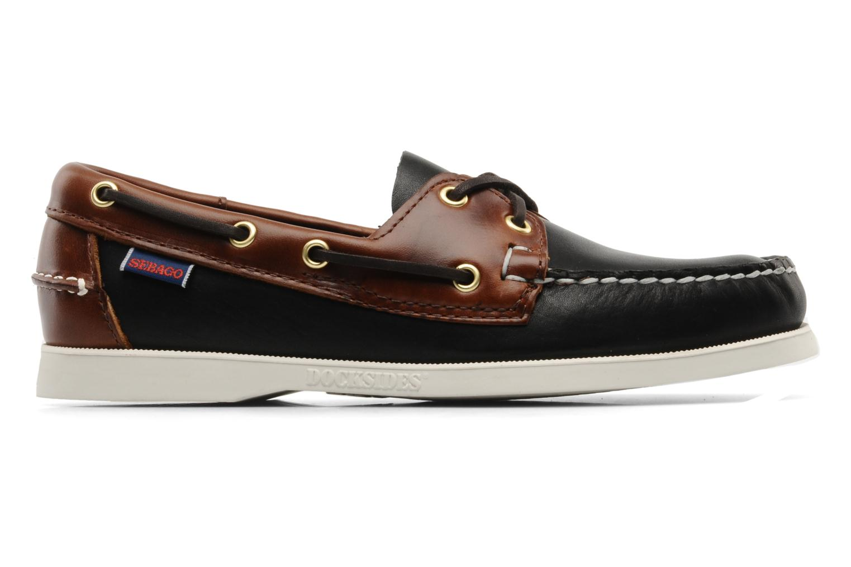 Chaussures à lacets Sebago Spinnaker M Noir vue derrière