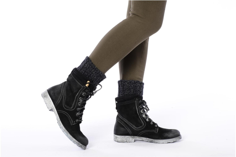 Bottines et boots Cafè Noir Aroa Noir vue bas / vue portée sac