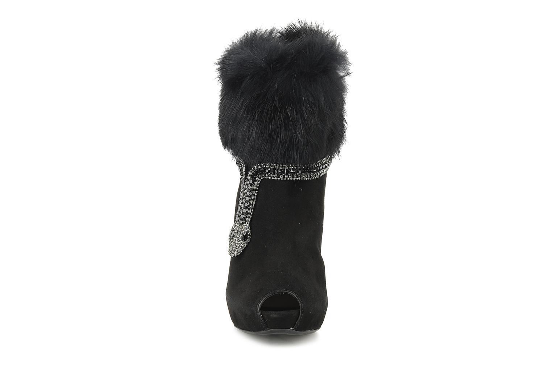 Bottines et boots Barachini Serpiento Noir vue portées chaussures