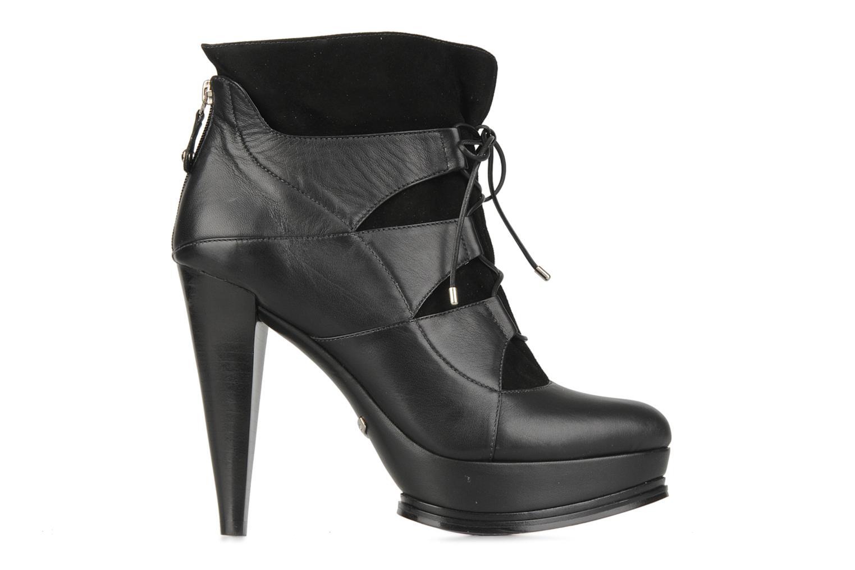 Boots en enkellaarsjes Miezko Manueva Zwart achterkant