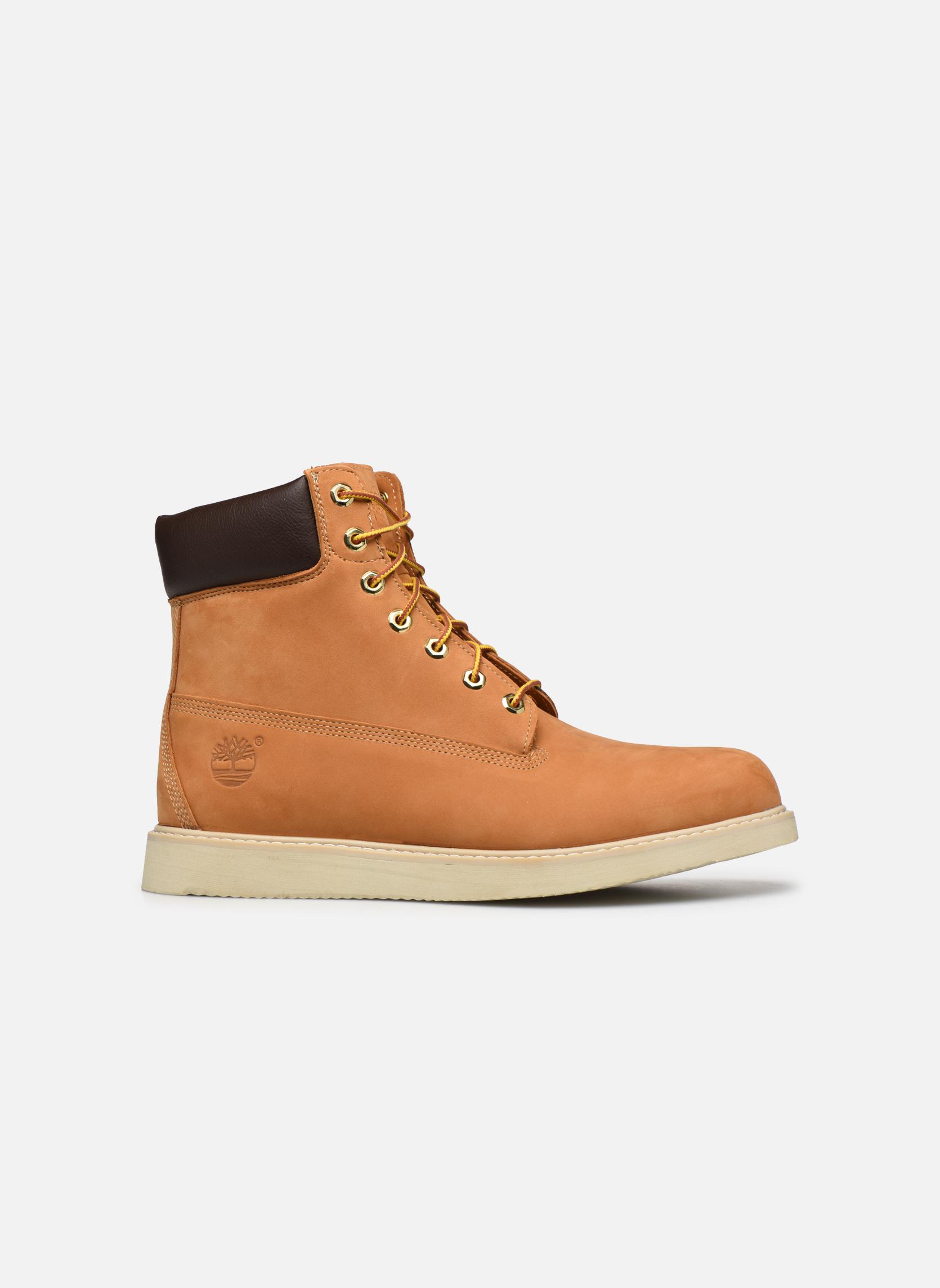 Boots en enkellaarsjes Timberland 6 in wedge Bruin achterkant
