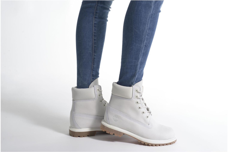 Stiefeletten & Boots Timberland 6 in premium boot w grau ansicht von unten / tasche getragen
