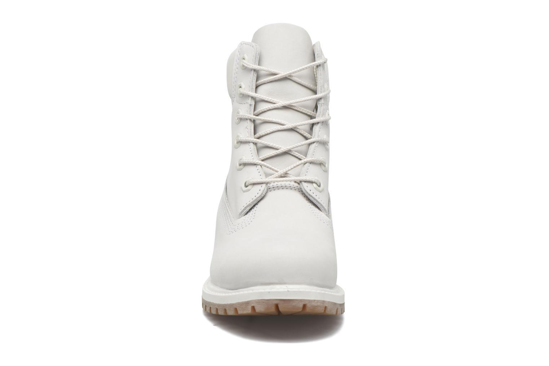 6 in premium boot w Vaporous grey Waterbuck Monochromatic