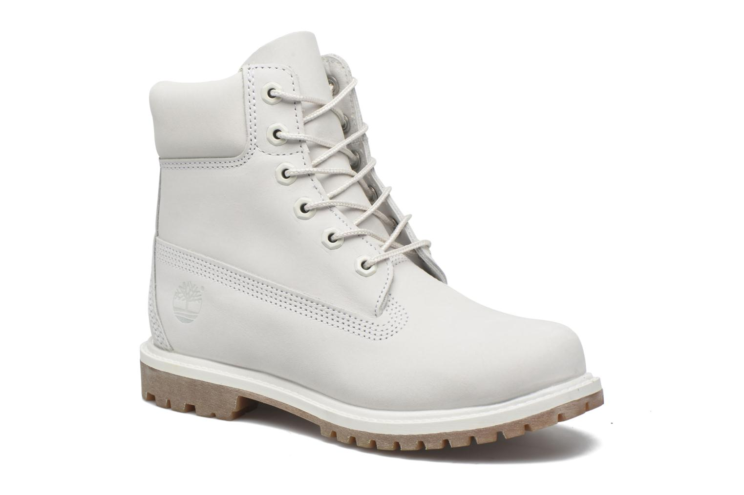 6 in premium boot w Vaporous grey Waterbuck Monochromatic