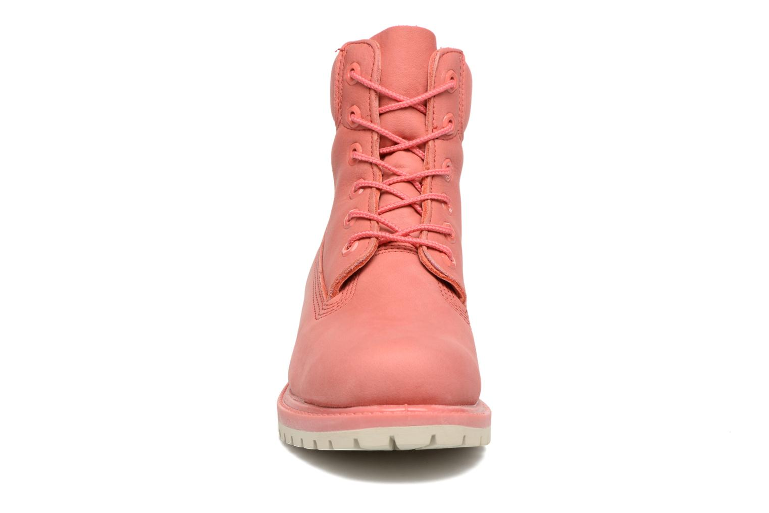 Bottines et boots Timberland 6 in premium boot w Rose vue portées chaussures