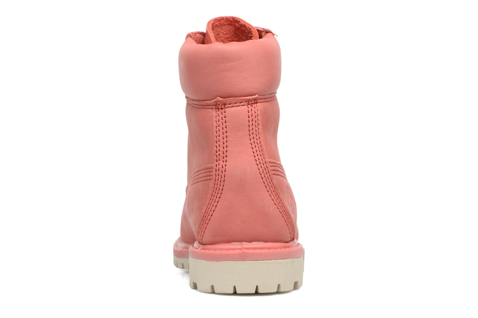 Bottines et boots Timberland 6 in premium boot w Rose vue droite