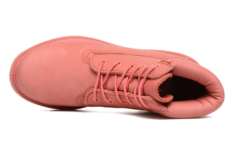 Bottines et boots Timberland 6 in premium boot w Rose vue gauche