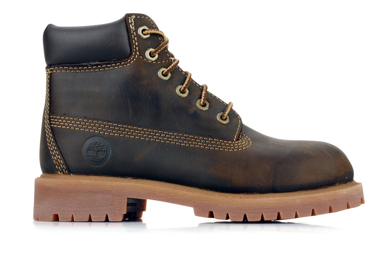 Stiefeletten & Boots Timberland 6 In Waterproof Boot braun ansicht von hinten