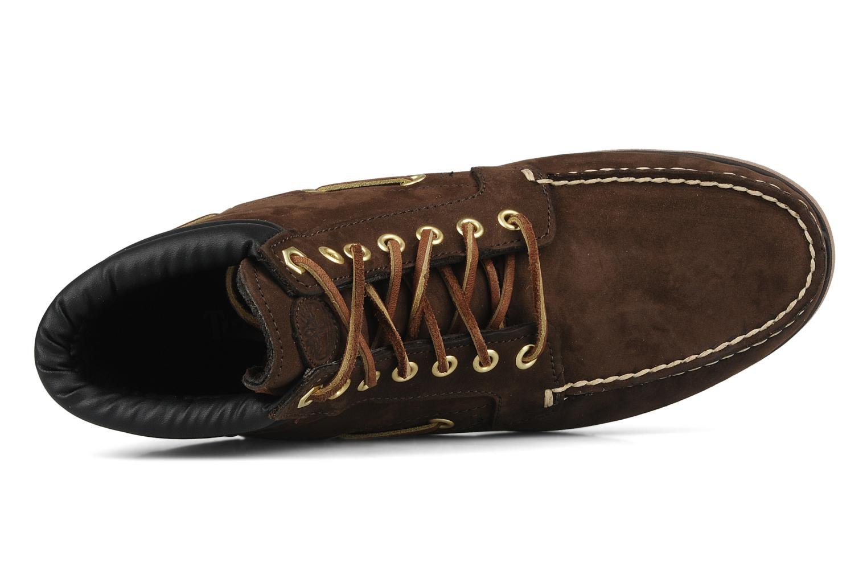 Bottines et boots Timberland 7 eye chukka Marron vue gauche