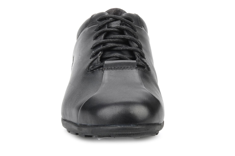Sneaker Timberland Bike toe oxford schwarz schuhe getragen