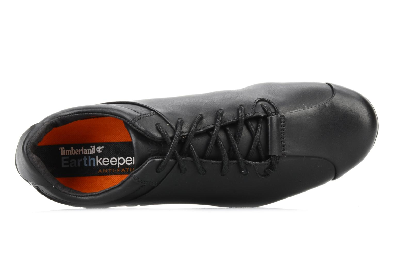 Sneaker Timberland Bike toe oxford schwarz ansicht von links