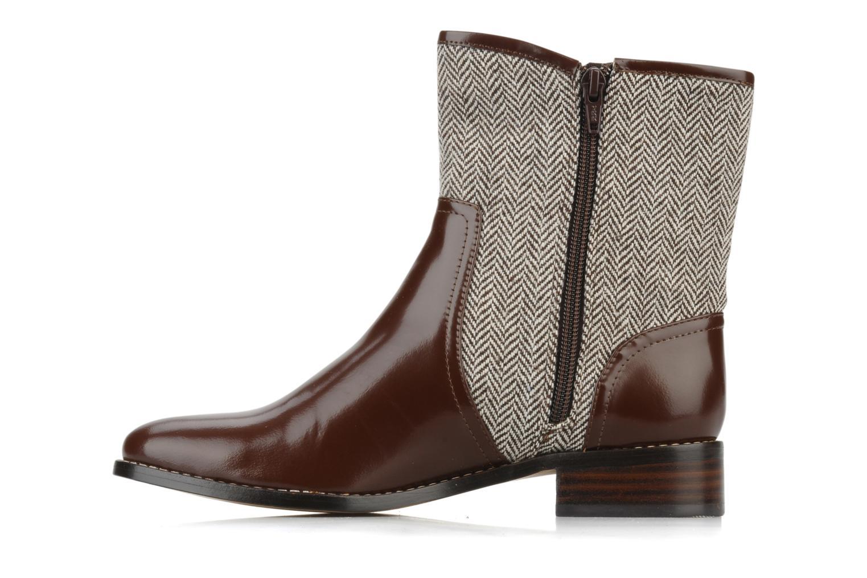 Bottines et boots C.Petula Janette Marron vue face