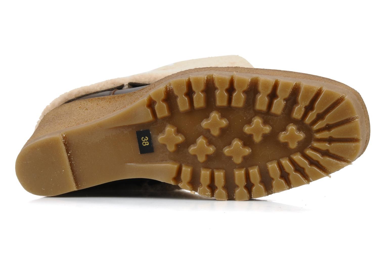Boots en enkellaarsjes Pare Gabia Nelice Bruin boven