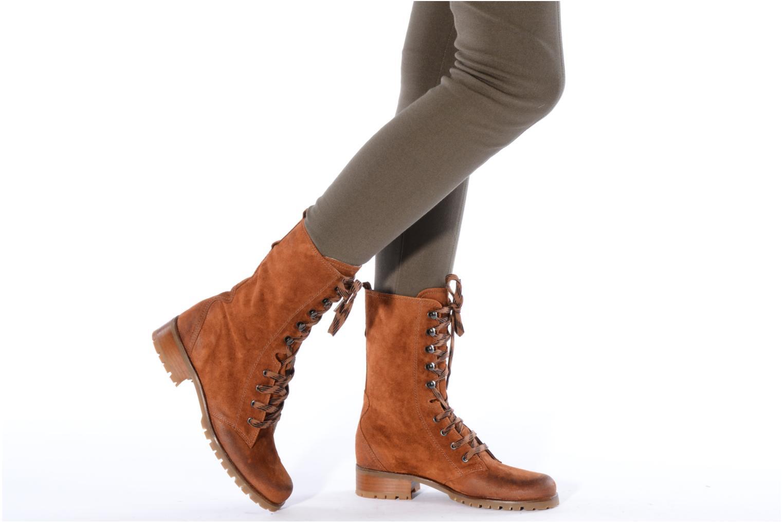 Bottines et boots Pare Gabia Tuilia Marron vue bas / vue portée sac