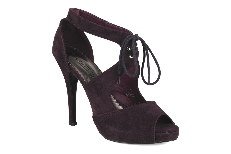 Sandales et nu-pieds Spot On Helana Violet vue détail/paire