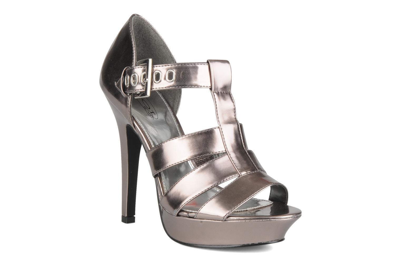 Sandales et nu-pieds Spot On Clochette Or et bronze vue détail/paire
