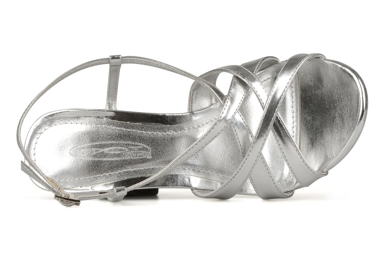 Sandales et nu-pieds Spot On Cindarella Argent vue gauche