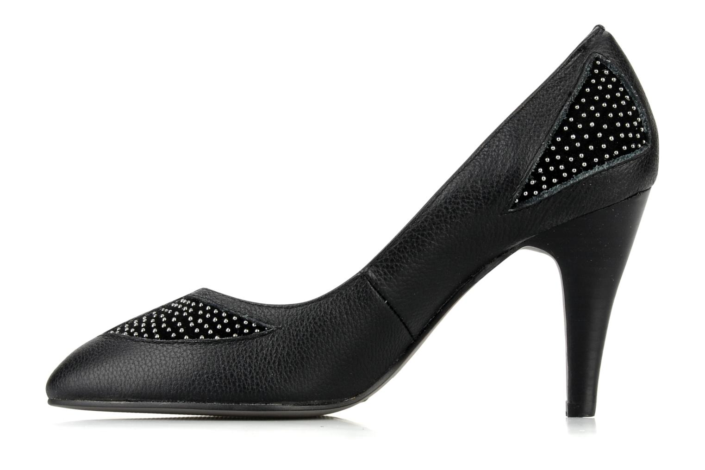High heels Lise Lindvig Trudy Black front view