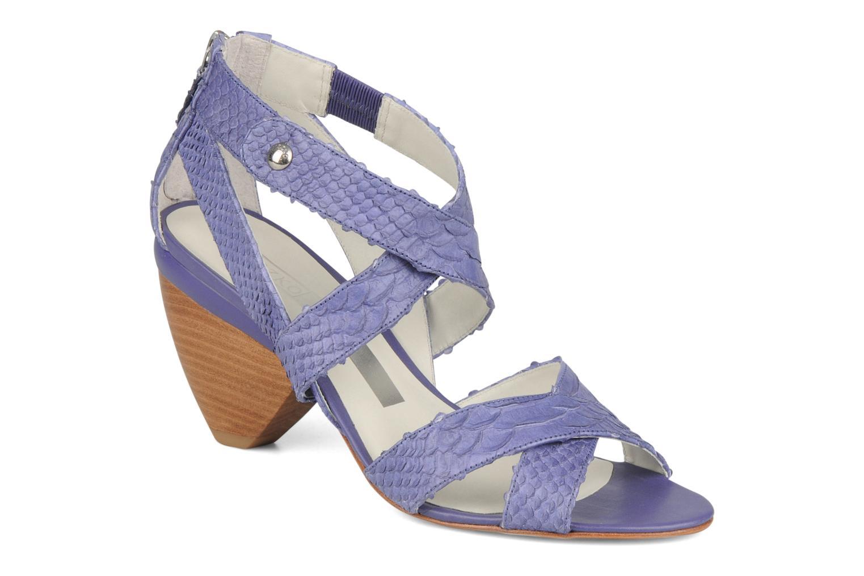 Sandales et nu-pieds Miezko Lina Violet vue détail/paire