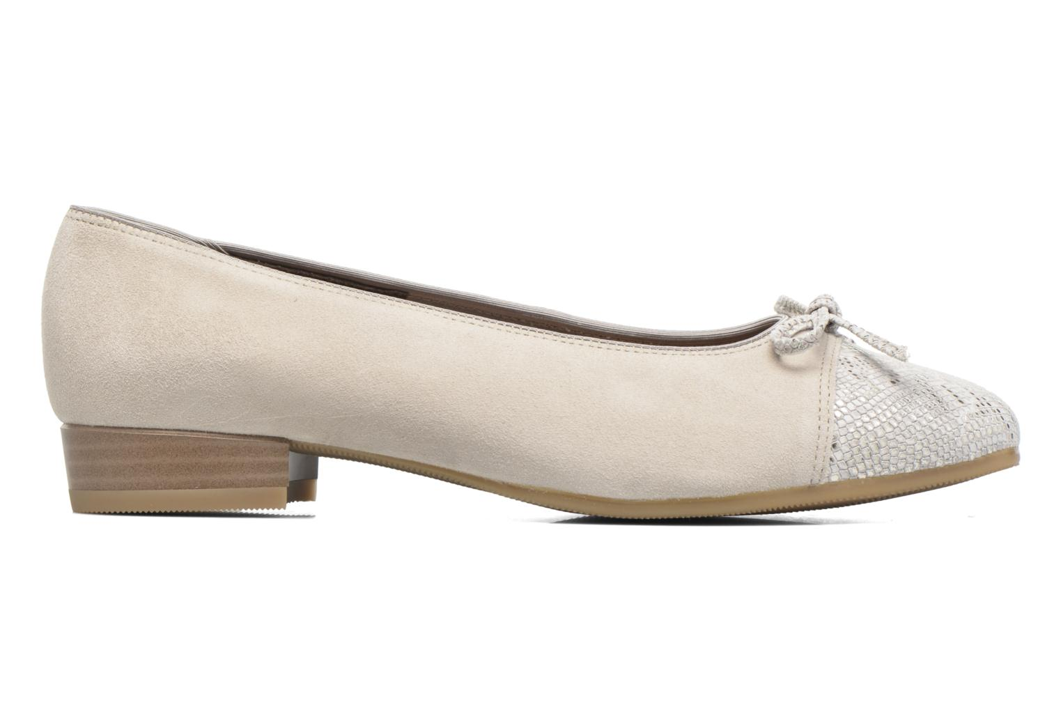 Ballet pumps Ara Bari Beige back view