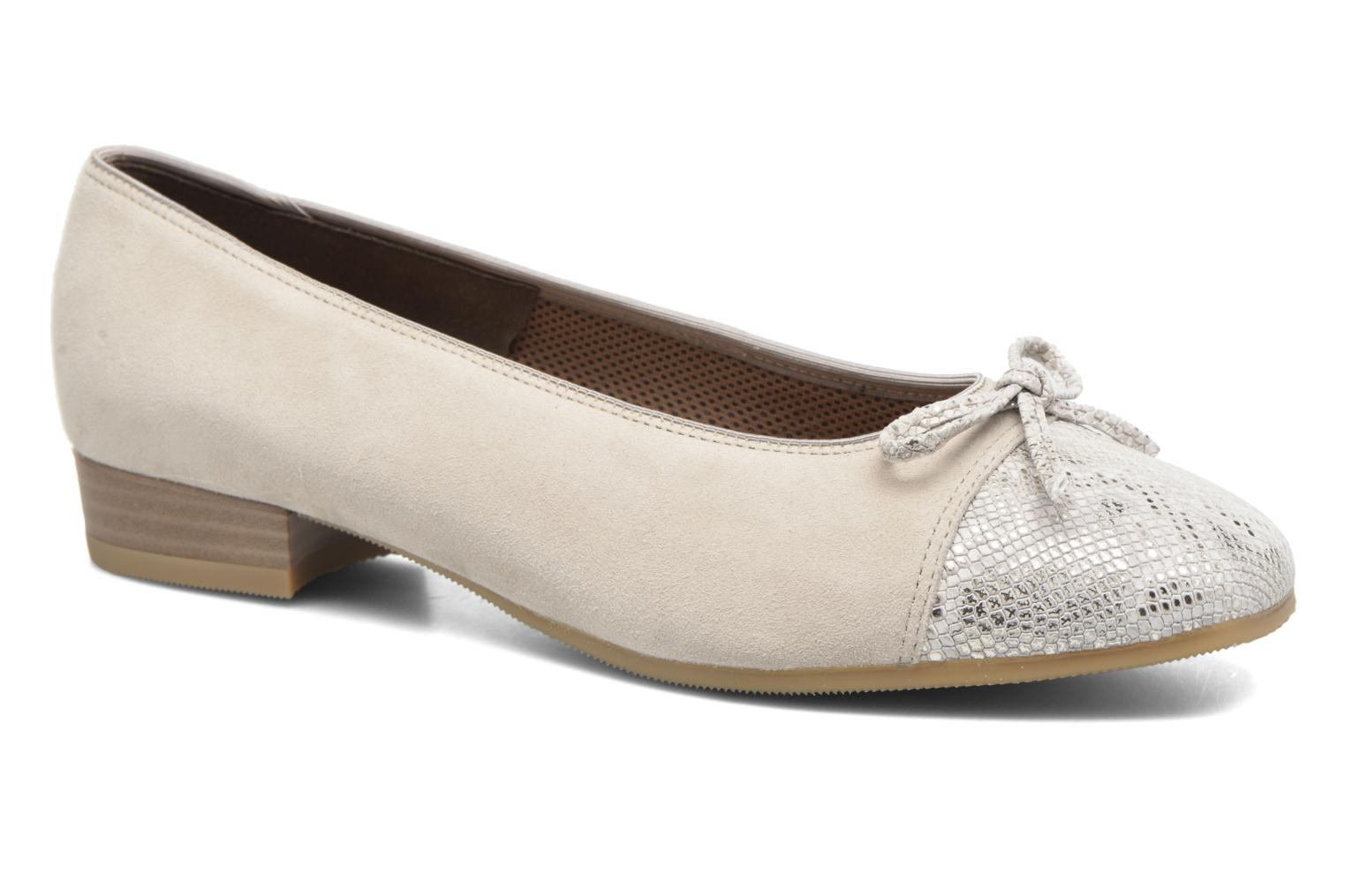 Ballet pumps Ara Bari Beige detailed view/ Pair view