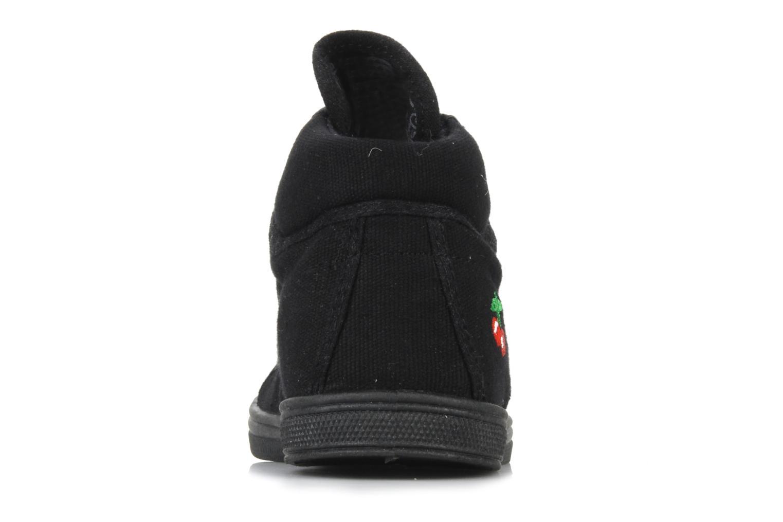 Sneakers Le temps des cerises LC Basic 03 Zwart rechts