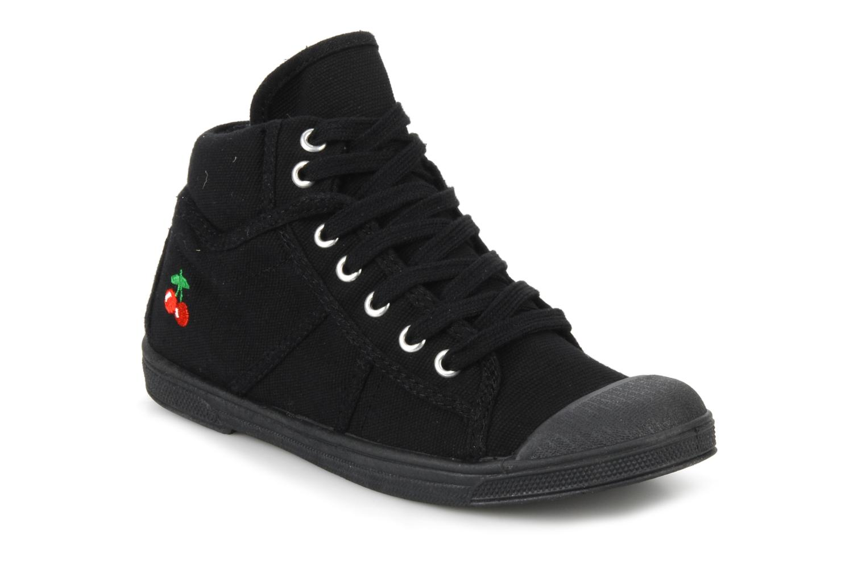 Sneakers Le temps des cerises LC Basic 03 Zwart detail