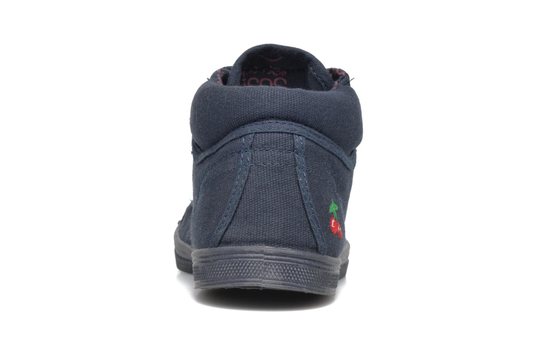 Sneakers Le temps des cerises LC Basic 03 Azzurro immagine destra