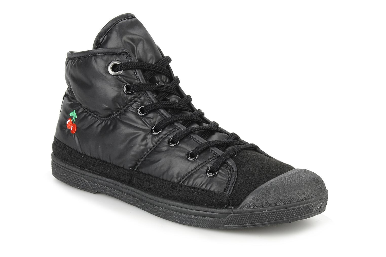 Sneakers Le temps des cerises Basic 03 doune Zwart detail