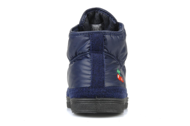 Sneakers Le temps des cerises Basic 03 doune Blauw rechts