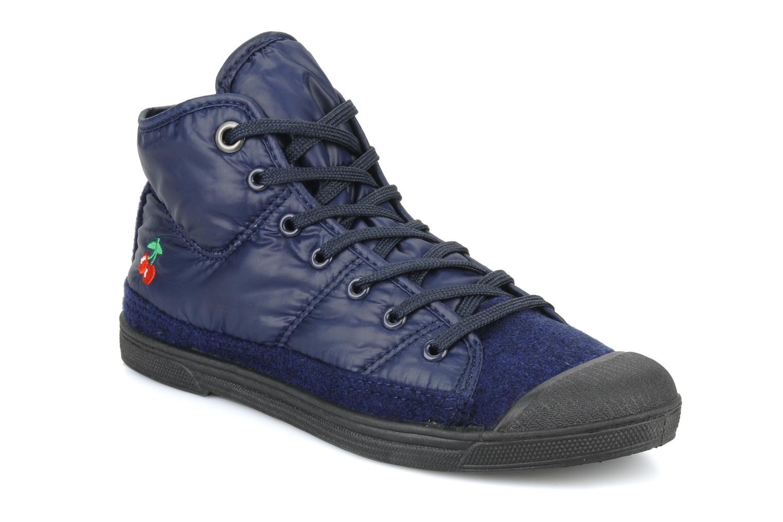 Sneakers Le temps des cerises Basic 03 doune Blauw detail