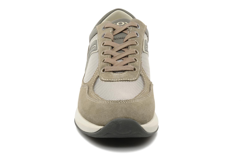 Baskets Geox U energy walk b Beige vue portées chaussures