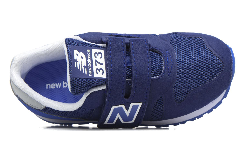 Sneaker New Balance Ka373 blau ansicht von links