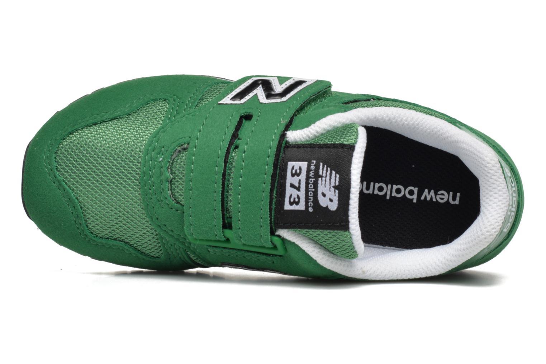 Sneaker New Balance Kv373 grün ansicht von links